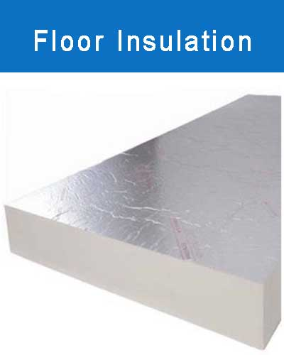 Insulation board suitable for floor insulation