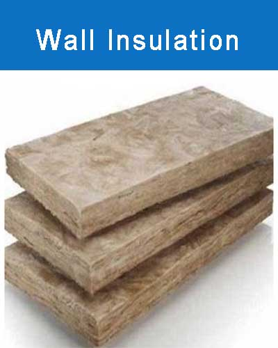 Slabs of insulation suitable for cavity wall insulation
